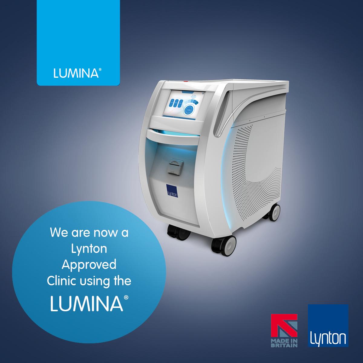 Lynton lumina ipl machine promotional picture