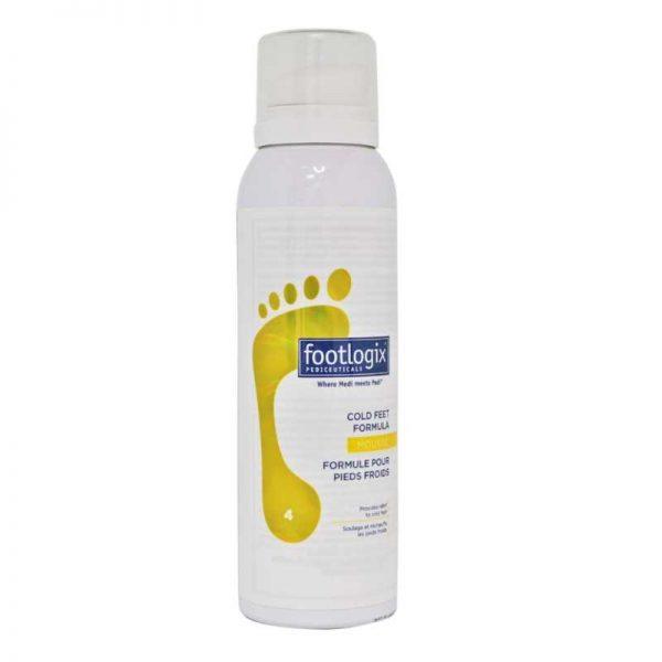 footlogix cold feet formula mousse