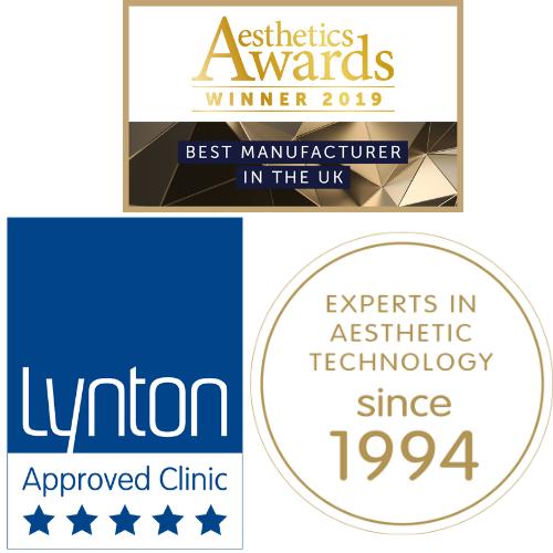 lynton aesthetics award logos