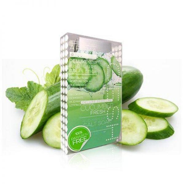 voesh cucumber fresh 4 step pedi
