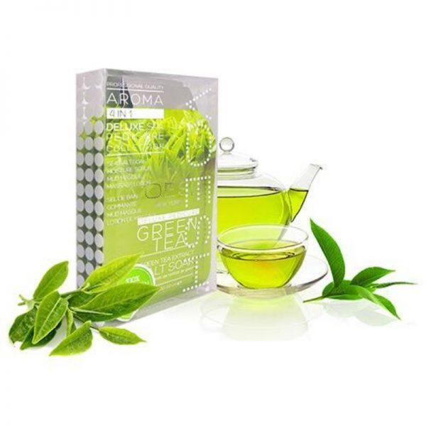 voesh green tea detox 4 step pedi