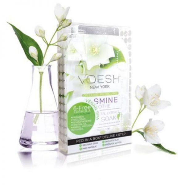 voesh jasmine soothe 4 step pedi
