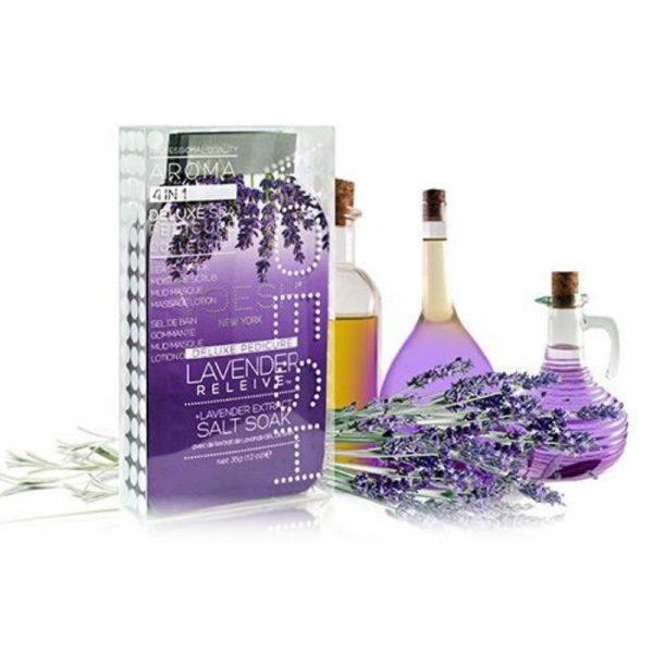 voesh lavender relieve 4 step pedi