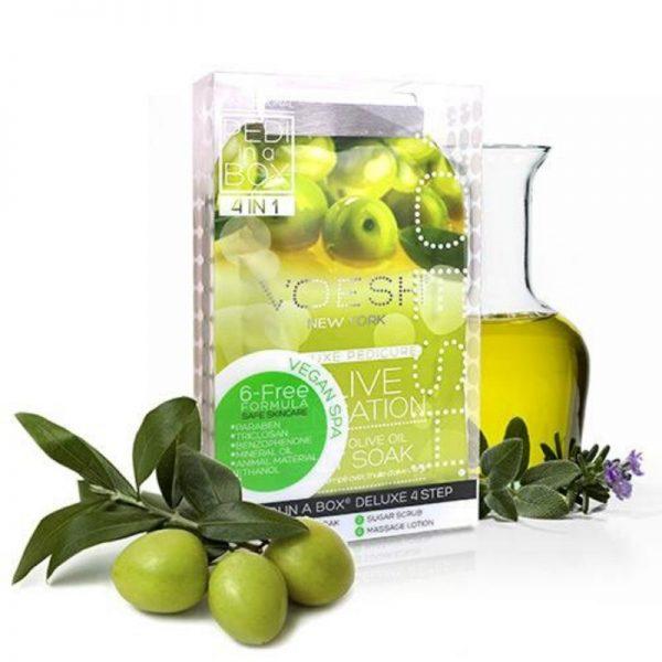 voesh olive sensation 4 step pedi