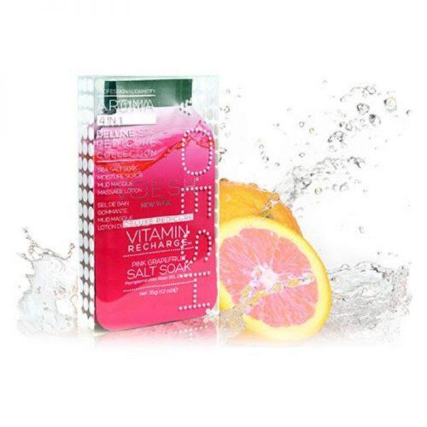 voesh vitamin recharge 4 step pedi