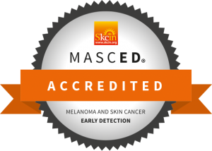 Masced accredited melanoma and skin cancer early detection
